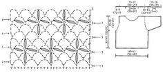 """Tahitian Dream / DROPS 60-14 - Top DROPS all'uncinetto, in """"Muskat"""". Taglie: Dalla S alla XL. - Free pattern by DROPS Design"""