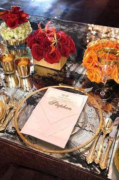 62 Romantic Fall Wedding Tablescapes   HappyWedd.com