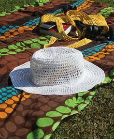 Chapéu de crochê - Blog Vitrine do Artesanato