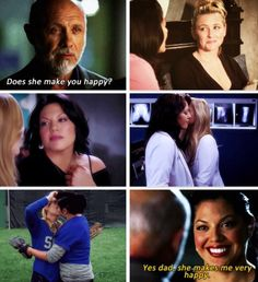 "Arizona makes Callie happy and that's all that matters <3 ""Because I love you and you love me and none of the rest of it matters!"""