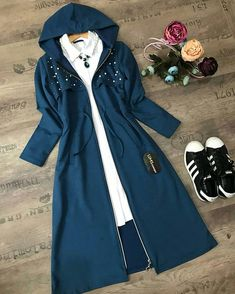 Girls Fashion Clothes, Teen Fashion Outfits, Girly Outfits, Fashion Dresses, Stylish Dresses For Girls, Stylish Dress Designs, Stylish Outfits, Modest Fashion Hijab, Muslim Fashion