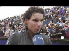 Entrevista TVE a pie de pista post-partido vs García-López R2 Barcelona 2012