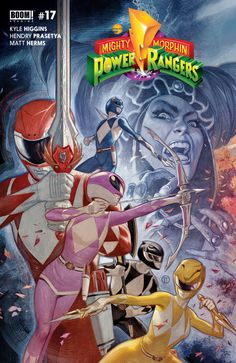 Shop for Mighty Morphin Power Rangers (Cover F) from Boom! Studios - written by Kyle Higgins. Comic book hits store shelves on July 2017 Power Rangers Tattoo, Power Rangers Comic, Go Go Power Rangers, Mighty Morphin Power Rangers, Power Rangers Pictures, Geeky Wallpaper, Green Ranger, Cultura Pop, Monsters