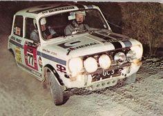 1972 Rally of New Zealand won by Abingdon prepared 1275GT ,driven by Andrew Cowan / Jim Scott