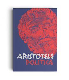 ARISTOTELE - POLITICA - ART DIRECTION LETTERING - Illustration: Riccardo Miotto