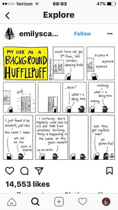 My life as a background Hufflepuff, Except that food is one of the five exceptions to the laws of elementary transfiguration Harry Potter Comics, Harry Potter Universal, Harry Potter Fandom, Harry Potter Memes, Background Slytherin, 4 Panel Life, Hufflepuff Pride, Yer A Wizard Harry, Mischief Managed