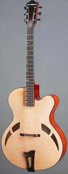 "Demers Guitars ""Jazz"" --- https://www.pinterest.com/lardyfatboy/"