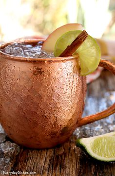 We love a tasty Moscow mule cocktail, so we thought a variation of the traditional favorite would be fun! Our angry mule cocktail maintains the integrity of a beloved ingredient (ginger) with a hearty kick of apple flavor and cinnamon spice.