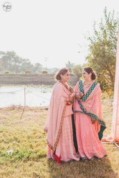 Riverside Chandigarh Wedding With Hues Of Peach! | WedMeGood