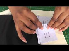 Sewing Easy Double Welt Pockets.  Like me, you may have already been taught the tailored and couture method of sewing double welt pockets. It's staggering just how long it takes to do, and more importantly get right.  But!  There is another way! Let me show you the easier fashion sewing version in this easy to follow fashion sewing video tutorial, ONLY at FashionSewingBlogTV - http://www.youtube.com/watch?v=GUUHIcpG71g