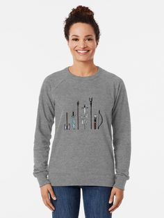 """""""Tom Hiddleston Galaxy Silhouettes by - check out my shop!"""" Lightweight Sweatshirt by RisottoArt Magic S, New York S, Black Pride, Pastel Goth, Black Girl Magic, Chiffon Tops, Vintage Inspired, Classic T Shirts, Graphic Sweatshirt"""