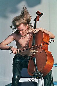 Perttu Kivilaakso of Apocalyptica, Finland World Music, Music Is Life, Finland Education, Goth Subculture, Steve Perry, Album, The Republic, Your Music, Caricature