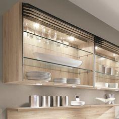 Keittiön valaistus viimeistelee tilan. Kitchen organizing and lights by Noblessa
