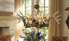Regal Stag Chandelier