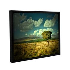 """ArtWall Taking A Moment by Mark Ross Framed Graphic Art on Gallery Wrapped Canvas Size: 18"""" H x 24"""" W"""