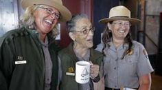 US's oldest park ranger, 94, back at work after attack - BBC News
