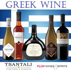 If you fell in love with Greek Wine at the Masterclass this week (or were already a huge fan) you can purchase the Tsantalia and Santorini wines from our website!