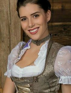 German Women, German Girls, Classy Women, Traditional Dresses, Looks Great, Women Wear, Beautiful Women, Vintage Stuff, Corsets