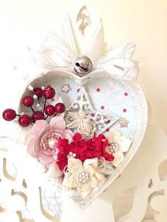 Christmas Decoration - Recycled Chocolate Box