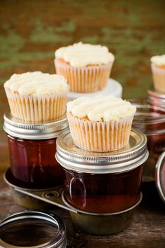Moonshine and Sweet Tea Cupcakes ~ Cupcake Project