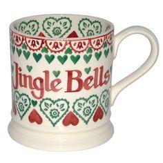 emma bridgewater 0.5 1//2 pint mug ho ho ho