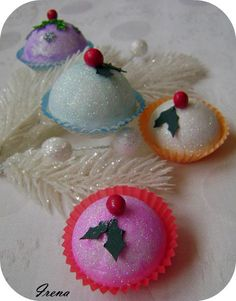 #cupcakes #christmasdecoration #2