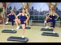 Cathe Friedrich Party Rockin Step 2 workout video