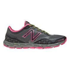 Women's New Balance Minimus 1010 Trail Running Shoe - Grey/Pink 8.5