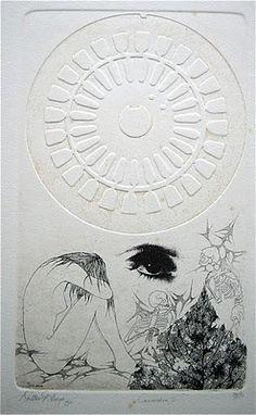 Grafiek uit De Antwerpse School: Walter Brems.