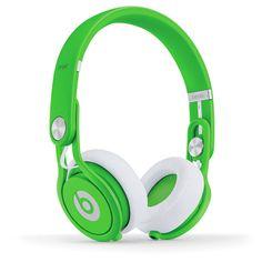 Beats Mixr Neon Green byBeats by Dr. Dre