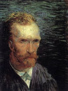 GOGH, Vincent van  Self-Portrait  Summer 1887, Paris  Oil on canvas on cardboard, 43 x 32 cm  Rijksmuseum Vincent van Gogh, Amsterdam