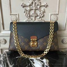 Louis Vuitton M41223 Pallas Chain Shoulder Bag Monogram Canvas