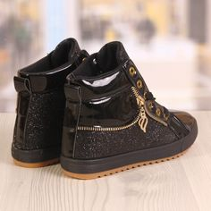 Ghete Dama Blaxy Sidex Negre Cod: 881 Sneakers, Shoes, Fashion, Tennis, Moda, Slippers, Zapatos, Shoes Outlet, Fashion Styles