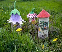 Felt Fairy House by Irina Orlova ♥