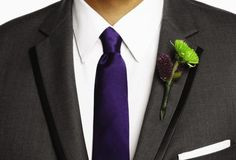 Wear a boutonnière that complements your style and your date's dress! #PromNation