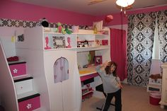 wanted to give my daughter a fun, pink girl room.