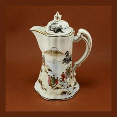 Nagoya SNB Nippon Chocolate Pot Antique