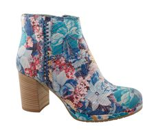 Made in Italy boot with flowers