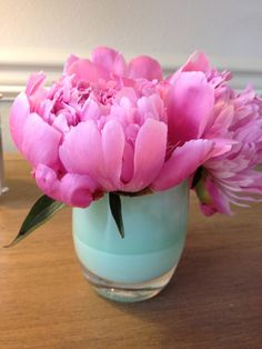 Huge peony in a 'lollypop' color glassybaby would be perfect on the tables! #glassybaby #Ido