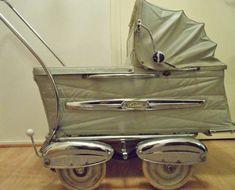 Simo lastenvaunut 1950-luvulla