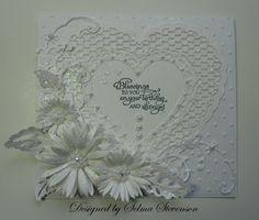 heartfelt creations | My Creations / The flowers were created with Heartfelt Creations dies ...