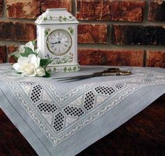 Cindy Valentine Designs Ocean Breeze Contemporary Charted Designs for Hardanger…