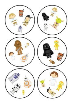 A long time ago in a galaxy far, far away … – Pomysły przy tablicy Fun Games For Kids, Diy For Kids, Printable Star Wars, Anniversaire Star Wars, Circle Labels, Memory Games, Creative Teaching, Play To Learn, Matching Games