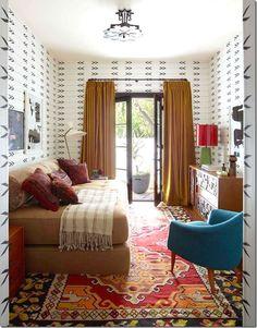 Sunroom mit roten Backsteinboden Puzzle Puzzles & Geduldspiele