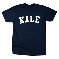 How great is this Kale varsity tee-shirt for a veggie loving dad on Father's Day?