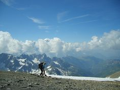 Le Buet (at the top 3096 m)