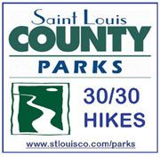 30 hikes in STL that take around 30 minutes to complete - or two hours with little kids, but whatev!! =)