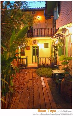 Baan Tepa Boutique Hostel; A Thai-House in the Old Bangkok, A local and cultural Boutique Hostel