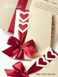 Red wedding invitations can absolutely play off hearts Wedding Anniversary Cards, Wedding Cards, Valentine Day Cards, Valentines, Valentine Heart, Handmade Wedding Invitations, Wedding Stationery, Handmade Invitation Cards, Event Invitations