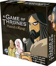 A game of #thrones - hand of the king #board card game by fantasy #flight games,  View more on the LINK: 	http://www.zeppy.io/product/gb/2/302129060958/